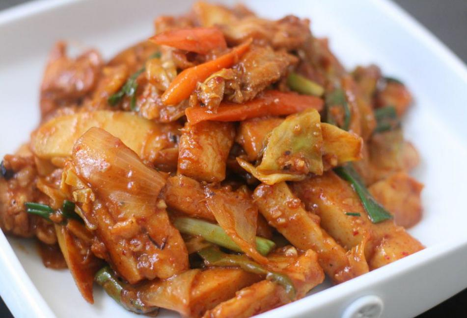 курица хе по-корейски рецепт с фото