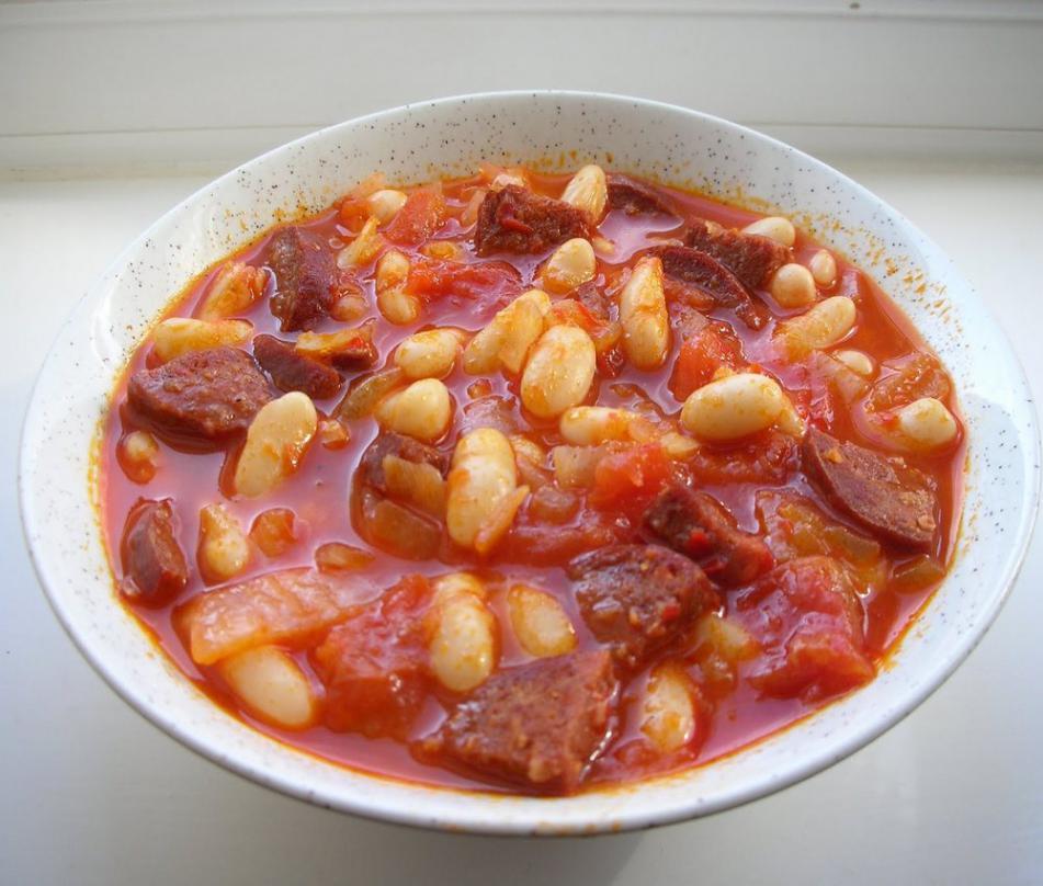 Фасоль с мясом рецепты