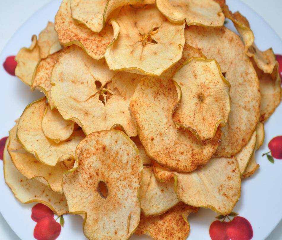 Как сделать яблочный чипсы 104