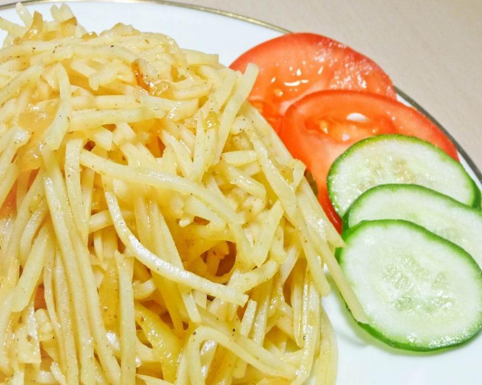 Картошка по-корейски салат рецепт